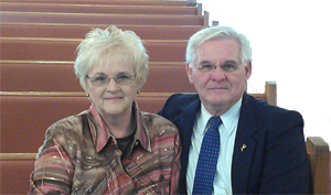 Pastor Steve Huffman and wife Cathy